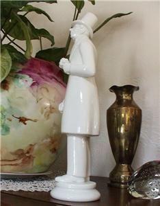 Copenhagen Figurine Hans Christian Andersen White 11 Tall