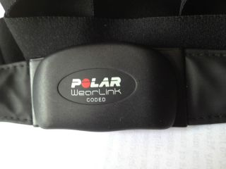 POLAR WearLink Coded heart rate monitor belt transmitter 0537
