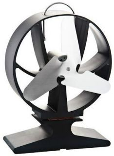 HANSA STOVE FAN ECO AIR MAX CAFRAMO TRI BLADE WOOD HEAT BURNING UK