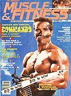 ARNOLD SCHWARZENEGGER COMMANDO Muscle & Fitness Mag November 1985 Very