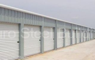 Duro Steel 40x100x8.5 Metal Building Mini Self Storage Includes 32