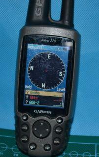 Garmin Astro 220 GPS Receiver Handheld Outdoors Along with Antenna