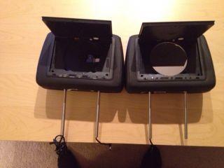 Forj Headrest DVD Players