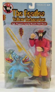 THE BEATLES YELLOW SUBMARINE SGT. PEPPERS 2000 McFARLANE ACTION FIGURE