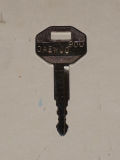 DAEWOO 900 EXCAVATOR HEAVY EQUIPMENT KEY NEW !!!