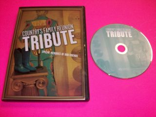Family Reunion Tribute DVD Del Reeves, Billy Walker, Hank Thompson