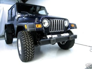 11608.01 Rugged Ridge 7 Extended Fender Flare Kit Jeep Wrangler TJ
