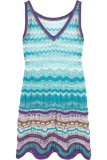 Missoni Canasta crochet knit dress   64% Off