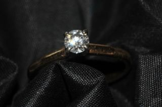 HEARTS ON FIRE DIAMOND SOLITAIRE RING 0 346 BEAUTIFUL 2000 new