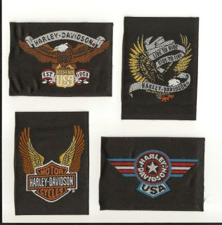 Harley Davidson Patch with Sturgis Cards