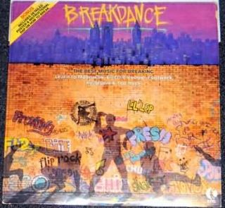 Tel Breakdance LP w Poster Twilight 22 Electro