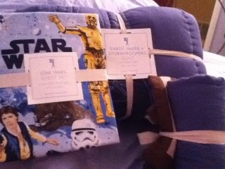 Pottery Barn Kids Star Wars Darth Vader and Stormtroopers 5 piece
