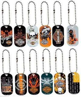 12 Harley Davidson Key Chains Licensed 2
