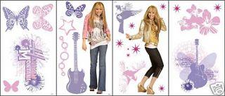 Disney Hannah Montana Big Wall Stickers Room Decals New