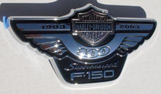 Ford Truck F150 Harley Davidson Emblem 2003 100th Anniv