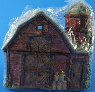 PC Heilig Meyer Porcelain Bisque Home Town Holiday Christmas Village