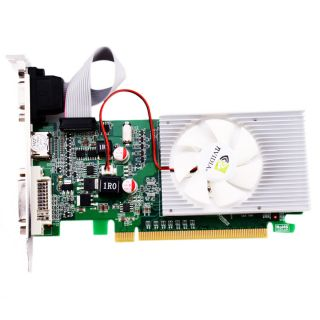 GT210 DDR3 Interface VGA DVI HDMI Graphics Card for PC 1024MB