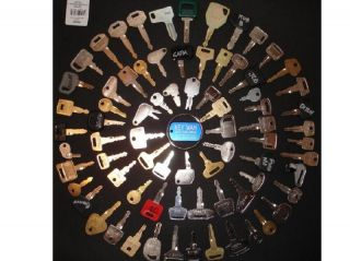 75 Heavy Equipment Keys The Professional Set