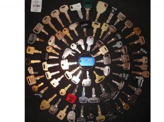 75 Heavy Equipment Keys The Professional Set