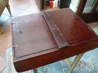 Vintage Antique Old Shop Counter Display Case Cabinet Ideal Collectors
