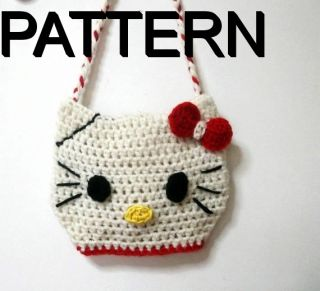 Crochet Pattern Hello Kitty Bag