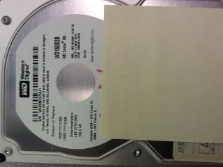 Digital Caviar RE 160GB IDE Ultra ATA/100 (WD1600SB) 3.5 hard drive