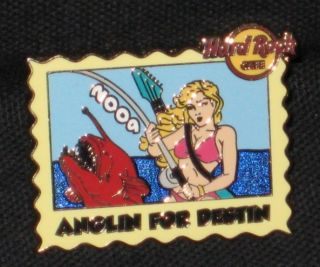 Hard Rock Cafe Destin Florida 2009 Anglin for Destin Pin