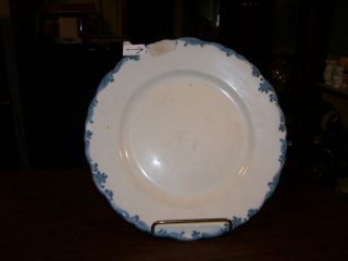 PLATE UNION PACIFIC HARRIMAN BLUE OVERLAND ROUTE CHIP ON FRONT NO