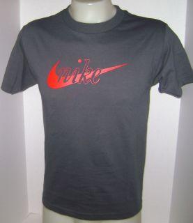 Men Nike Dry Fit Tennis T Shirt Dark Gray