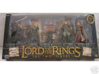 Helms Deep 5 Figure Gift Pack Lord Rings Haldir Gimli