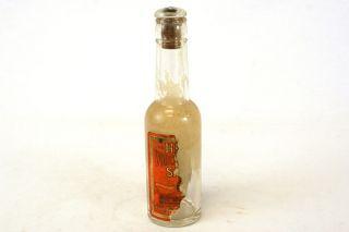 Vintage H.J. Heinz Worcestershire Sauce Bottle