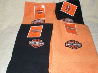 Harley Davidson Towels Bathrooms for Gifts