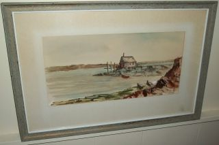 Realist Oil on Illustration Board Painting by Harry Hall Listed
