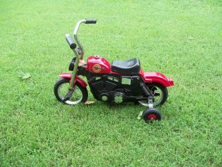 Roadmaster Harley Davidson Sportster Childs Bicycle with Traing Wheels