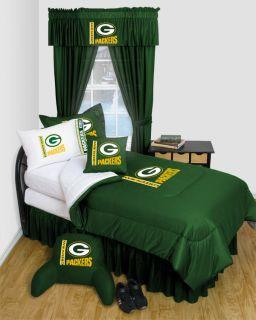 NFL Green Bay Packers Locker Room Bedding and Bedroom Decor