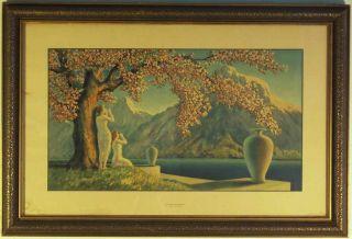 Loves Echoes Print by Henri G Reynard Original Frame