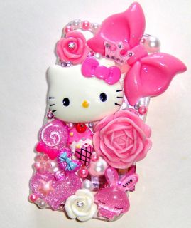 DIY Hello Kitty Bling Bling Cell Phone Case Deco Kit