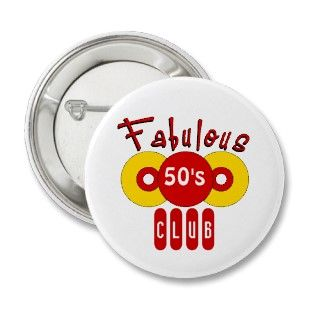 Fabulous 50s Club Pin
