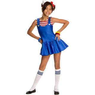 Hello Kitty Hello Kitty Blue Romper Dress Child Costume