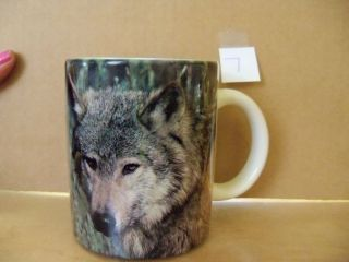 National Wildlife Federation Mug Gray Wolf Canis Lupus Coffee Mug S10A