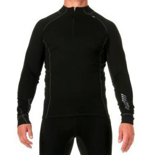 Helly Hansen Mens Freeze 1 2 Zip Warm Merino Wool Baselayer Black
