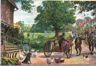 1000 Piece Jigsaw Puzzle The Village Green by Steve Crisp