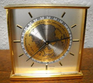 CONCORD 24 Hour World Time 8 Day Clock, Helmerich & Payne 25 yrs Award