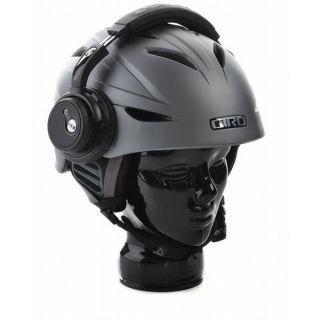 Giro G10 Wireless Audio Ski Snowboard Helmet Matte Titanium Sz S