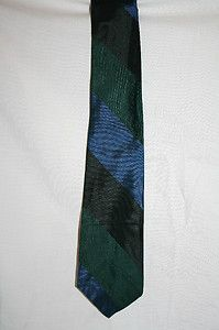 Vtg Don Loper of California All Silk Narrow Necktie