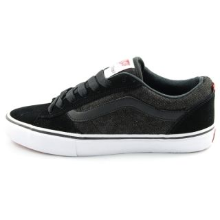 Denim Black Mens Skate Shoes Omar Hassan Signature VN 098U282