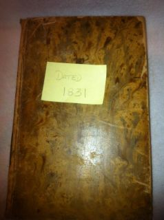 Antique 1831 Bible Volume IV Matthew Henry Old Testament Religion Book