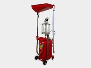 18 Gallon Oil Extractor Drain Vacuum Pump Portable