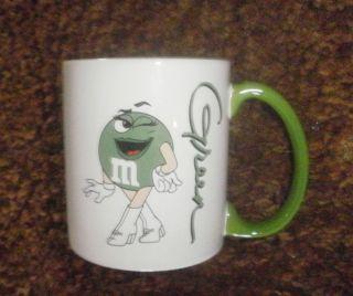Comical Ceramic Coffee Mug M M s GREEN