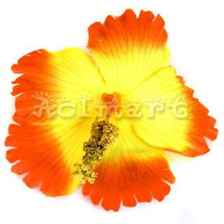 Hawaiian Beach Wedding Party Hibiscus Flower Hair Clip